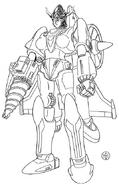 Getter Robo Go-2 Proto