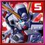№35201 3☆11 クロスボーン・ガンダムX1 海盜高達X1