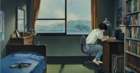 Ghibli-flüstern-takus-zimmer