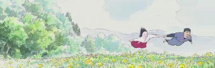 Ghibli-kaguya-fliegen