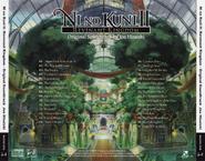 Ni no Kuni II Revenant Kingdom Soundtrack EURO Back