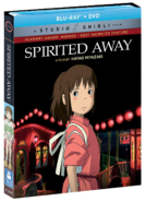 Le Voyage de Chihiro (couverture disque Blu-Ray anglaise)