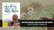 Never-Ending Man Hayao Miyazaki (Deutscher Trailer) HD KSM Anime