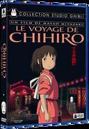 Le Voyage de Chihiro (couverture DVD française)