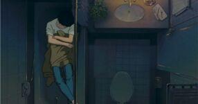 Ghibli-flüstern-badewanne