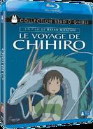 Le Voyage de Chihiro (couverture disque Blu-Ray française)
