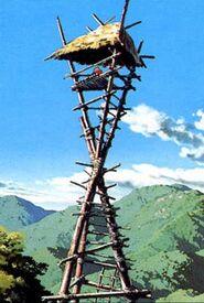 Mononoke-emishi-watch-tower