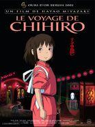 Le Voyage de Chihiro (affiche française)