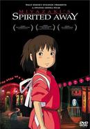 Le Voyage de Chihiro (couverture DVD anglaise)