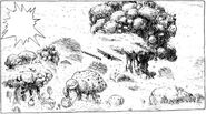 Nausicaa-manga-schleimpilz-wald