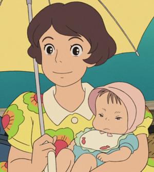 Junge Mutter (Ponyo)