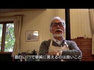 Hayao Miyazaki reacts to his son's new movie (English subs, 2020)