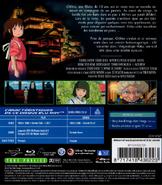 Le Voyage de Chihiro (couverture disque Blu-Ray française - arrière)