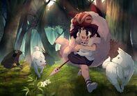 Princess-mononoke-san-kid