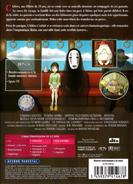 Le Voyage de Chihiro (couverture DVD française - arrière)