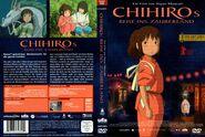 Le Voyage de Chihiro (couverture DVD allemande)