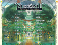 Ni no Kuni II Revenant Kingdom Soundtrack Back