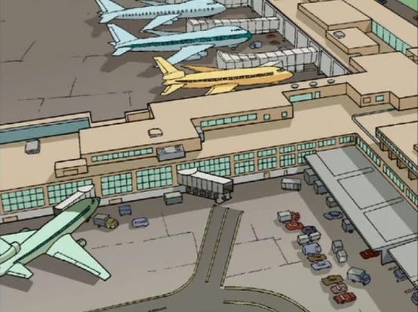 John F. Kennedy International Airport/Animated