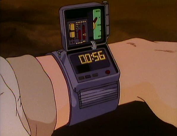 Displacement Wristwatch