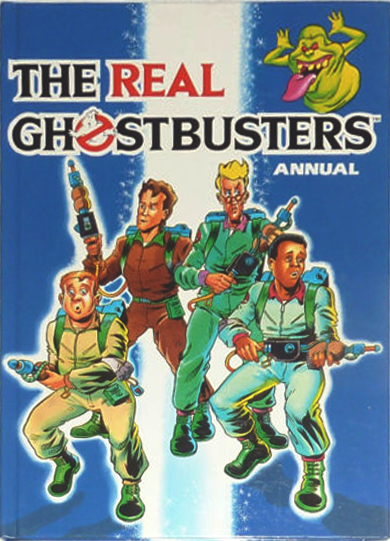Marvel Comics Ltd- The Real Ghostbusters Annual 1989