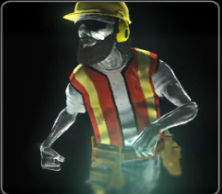 Construction Worker Ghost
