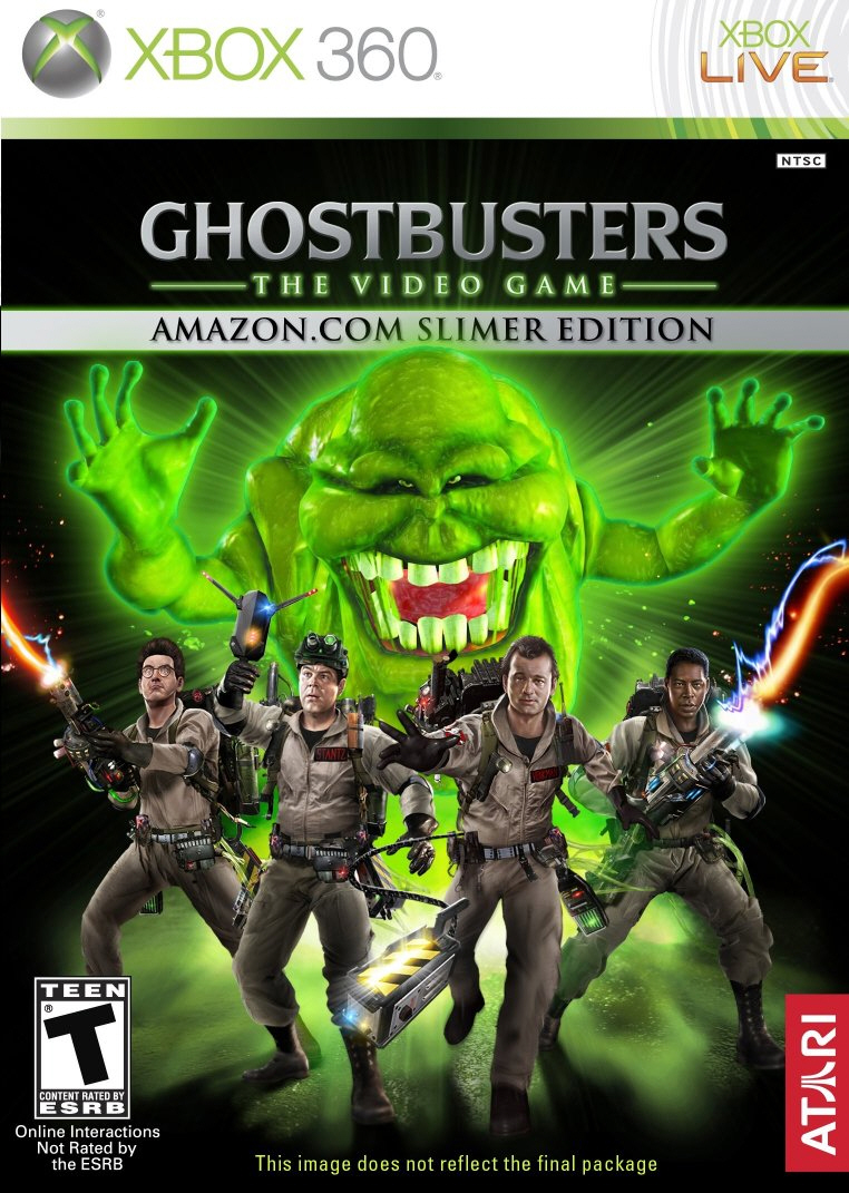 Ghostbusters: The Video Game (Slimer Edition packaging)