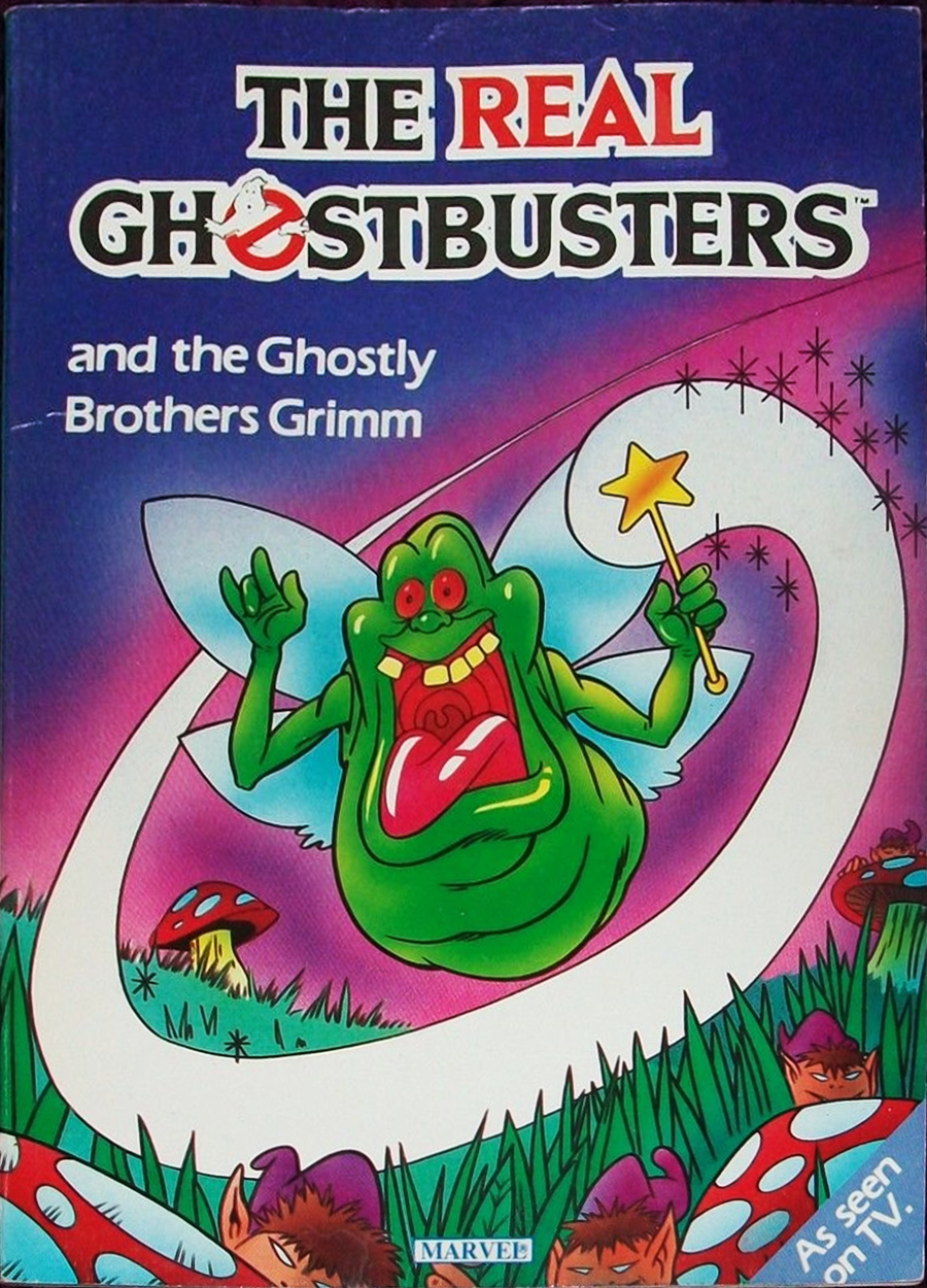 Marvel Comics Ltd- The Real Ghostbusters: and the Ghostly Brothers Grimm