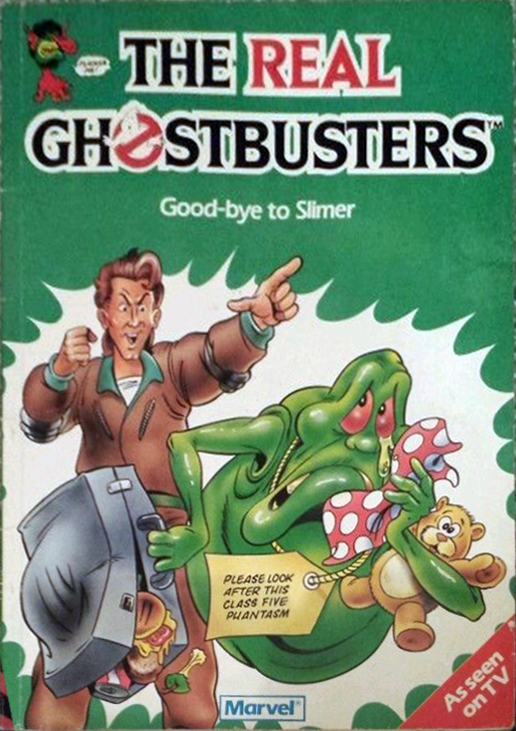 Marvel Comics Ltd- The Real Ghostbusters: Good-bye to Slimer