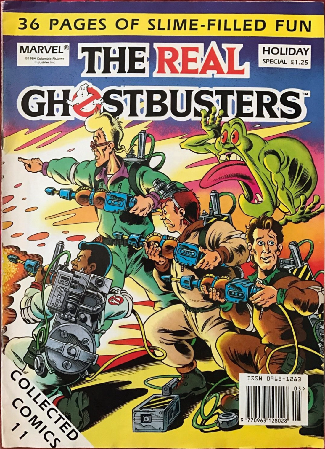 Marvel Comics Ltd- The Real Ghostbusters Collected Comics 11 Holiday Special