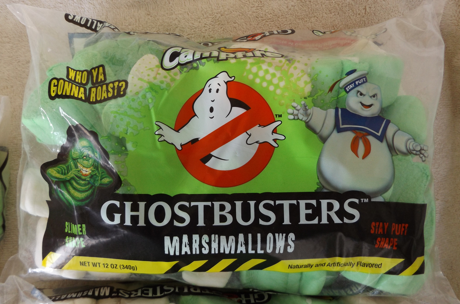 Ghostbusters Marshmallows (by Campfire/Rocky Mountain)
