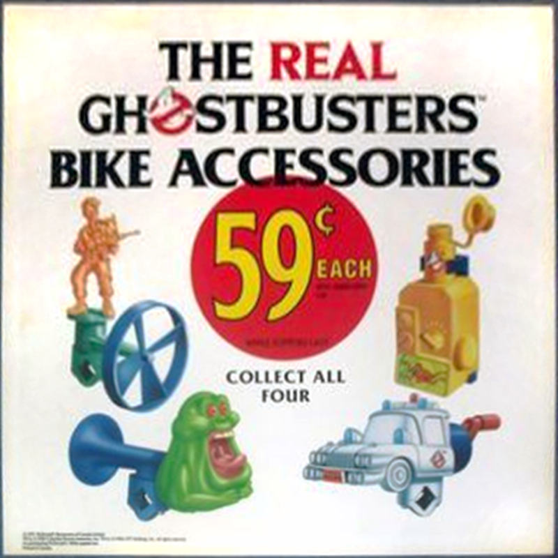 McDonald's The Real Ghostbusters Promotion 1992
