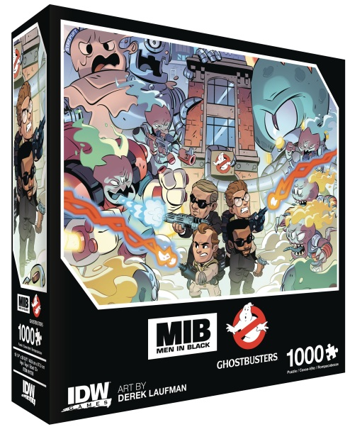 Men In Black/Ghostbusters Invasion Premium Puzzle