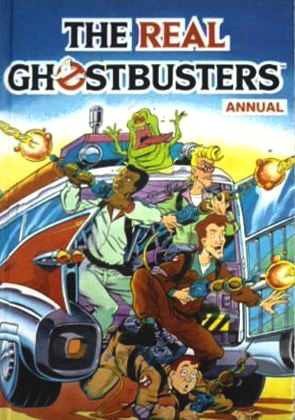 Marvel Comics Ltd- The Real Ghostbusters Annual 1991