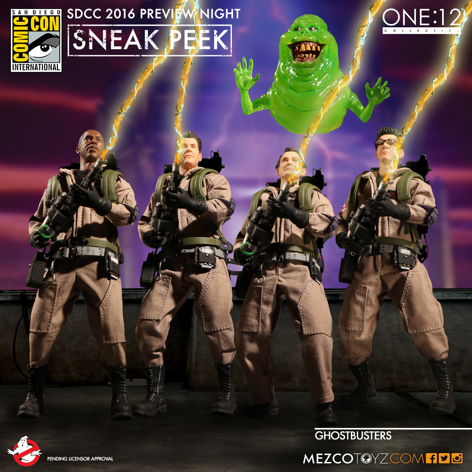 Mezco Toyz Ghostbusters One:12 Collective Figures