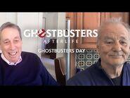 HAPPY GHOSTBUSTERS DAY from Ivan Reitman and Bill Murray