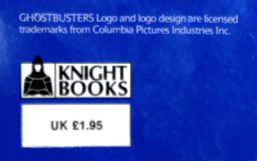 Knight Books- The Real Ghostbusters Series