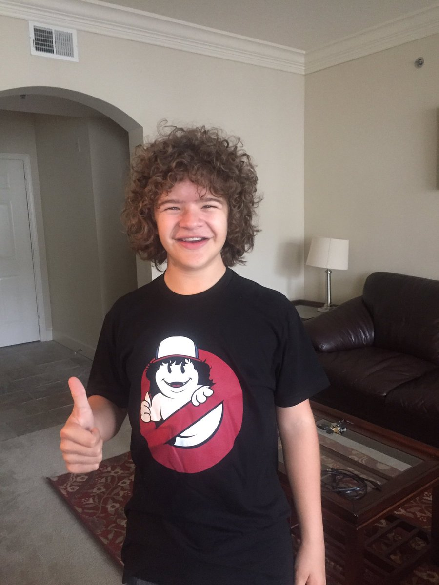 Gaten Matarazzo No Ghost Logo Shirt By Represent
