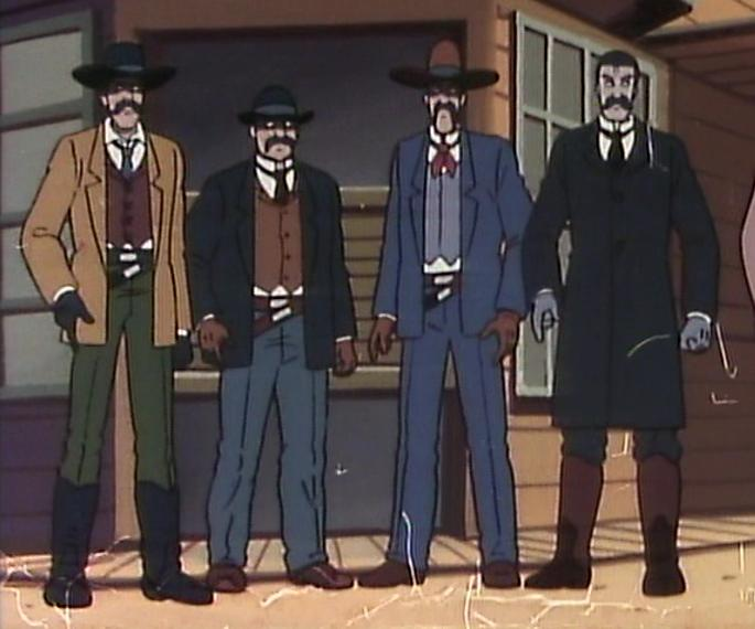 Doc Holliday and the Earps