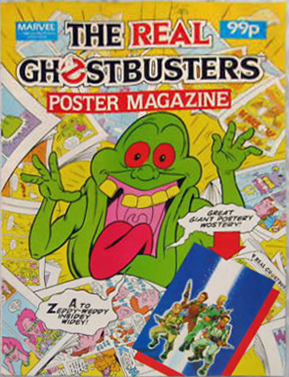 Marvel Comics Ltd- The Real Ghostbusters Poster Magazine