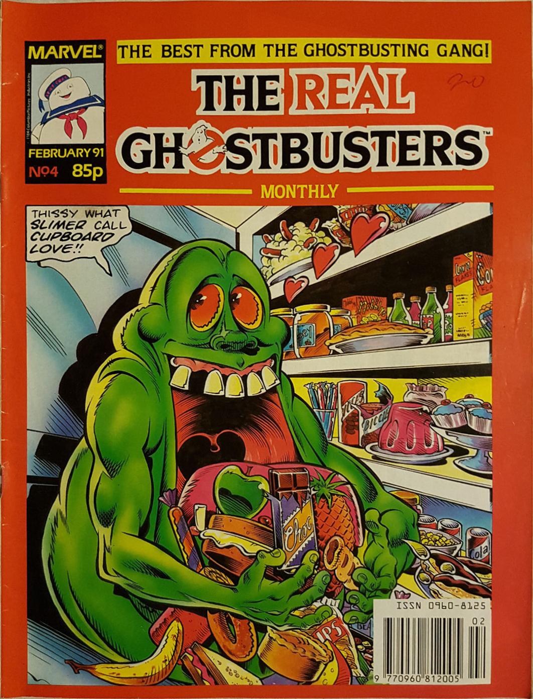 Marvel Comics Ltd- The Real Ghostbusters Monthly 4
