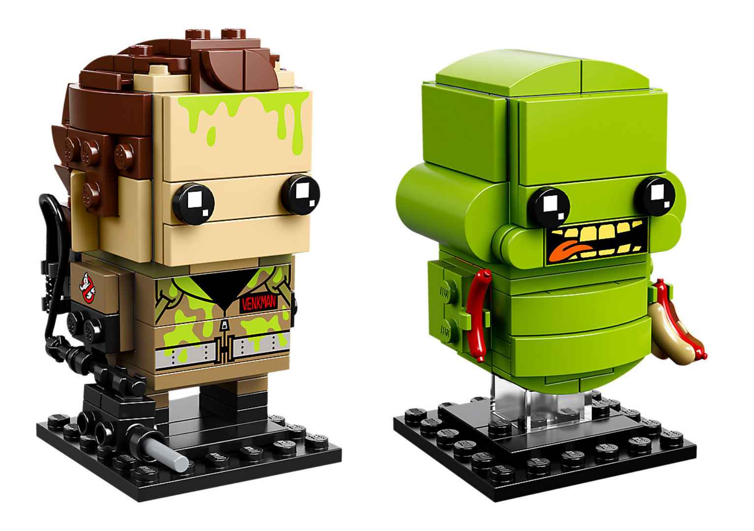 Lego Ghostbusters Brickheadz: Peter and Slimer 2 Pack