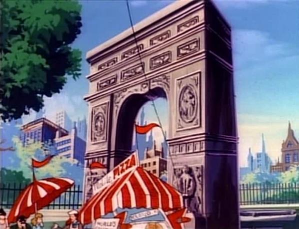 Washington Square Arch/Animated
