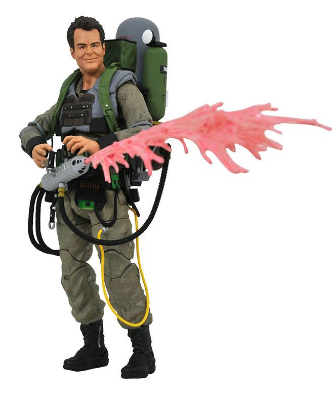 Diamond Select Ghostbusters II: Slime Blower Ray Stantz Action Figure