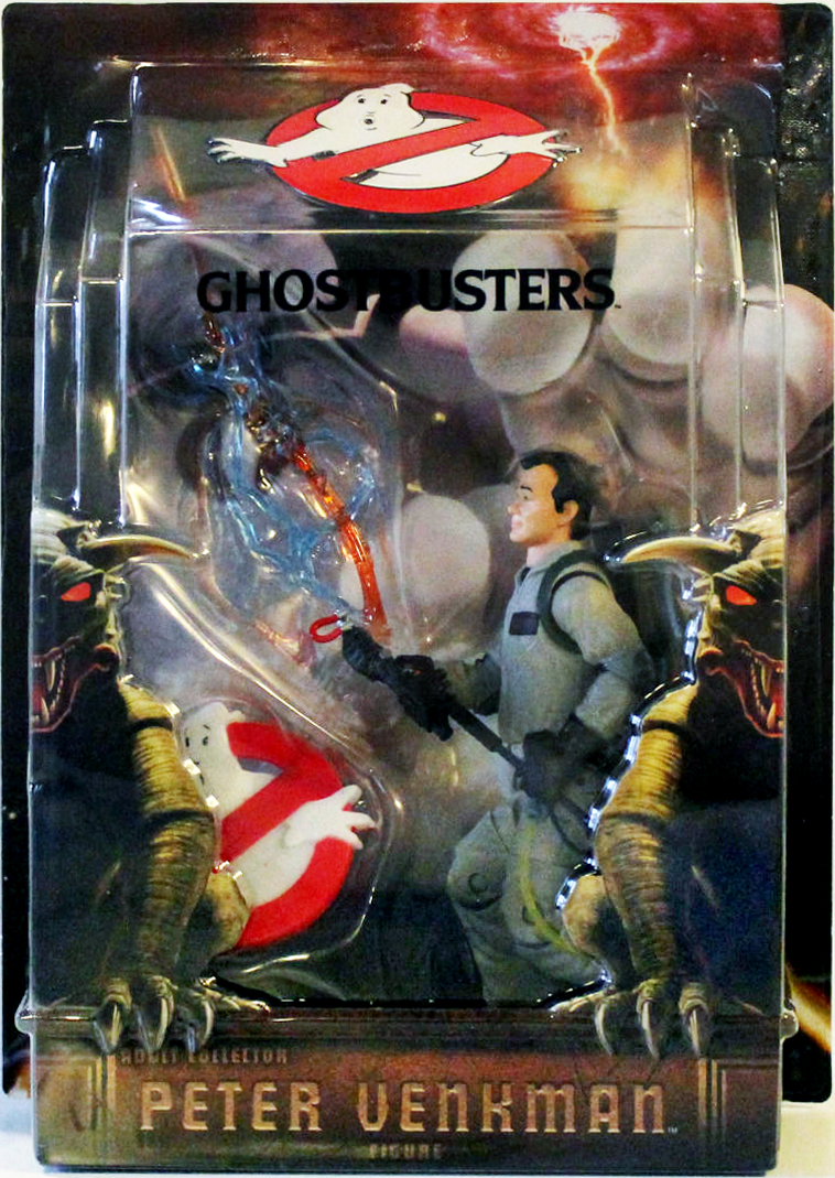 Matty Collector: 6″ Peter Venkman with Proton Stream and Ghostbusters Logo Base