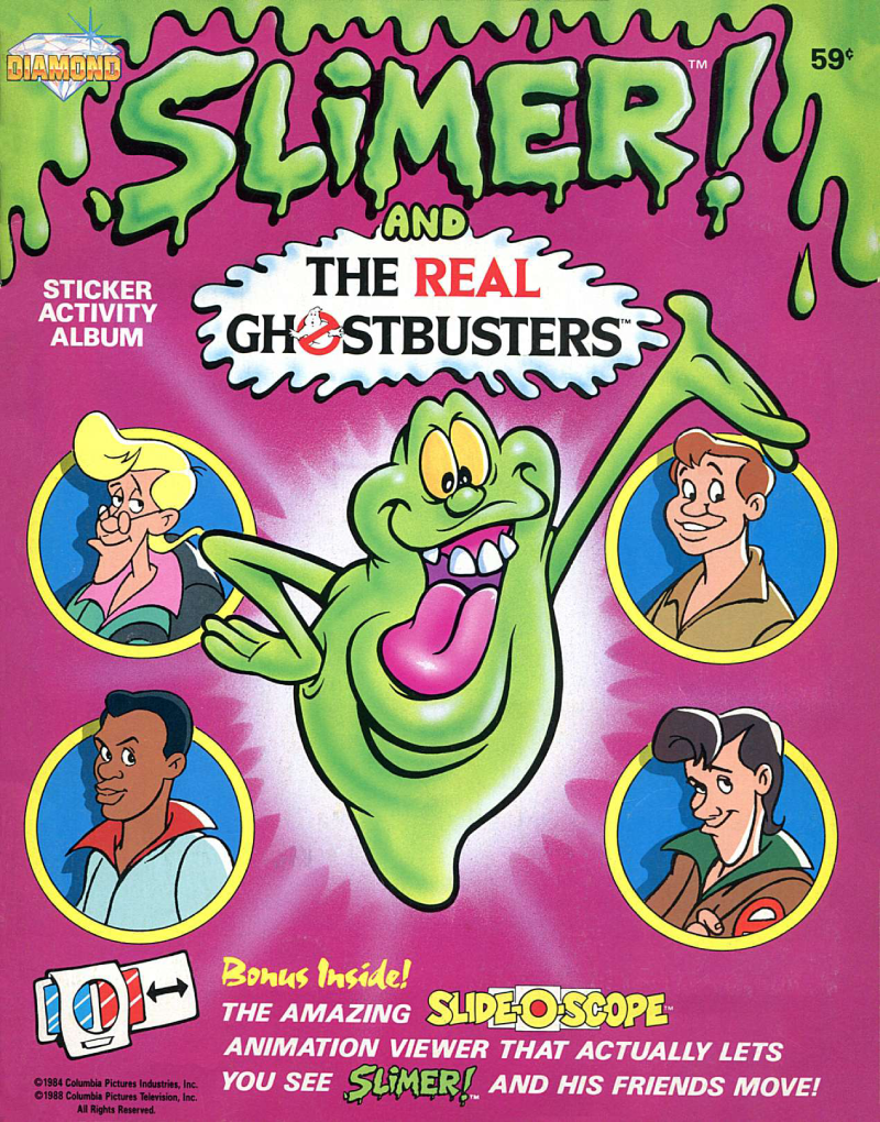 Slimer! and The Real Ghostbusters: Sticker Activity Album