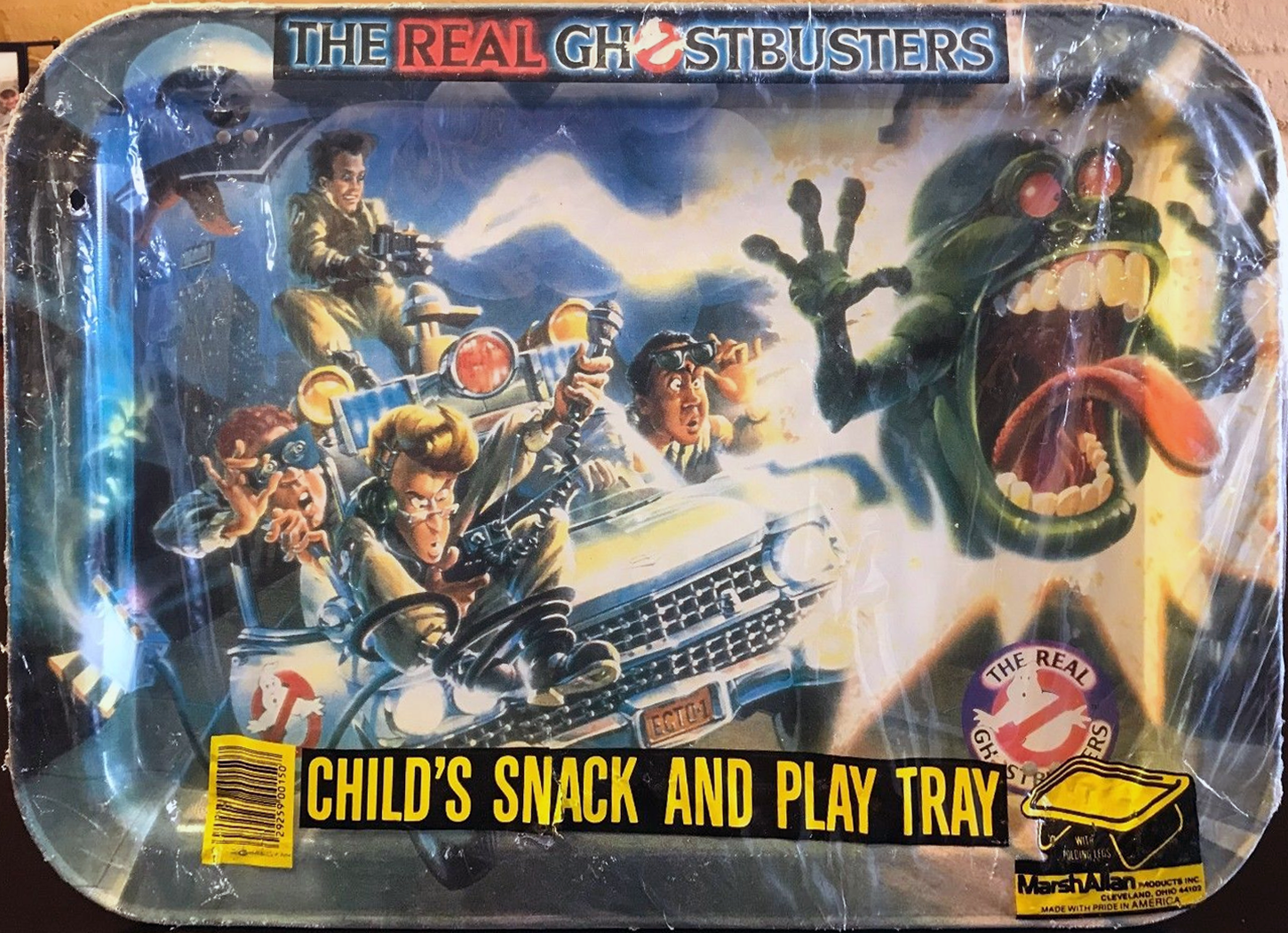The Real Ghostbusters: Child's Snack And Play Tray