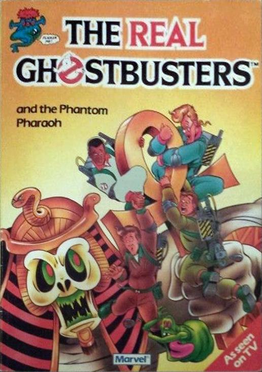Marvel Comics Ltd- The Real Ghostbusters: and the Phantom Pharaoh
