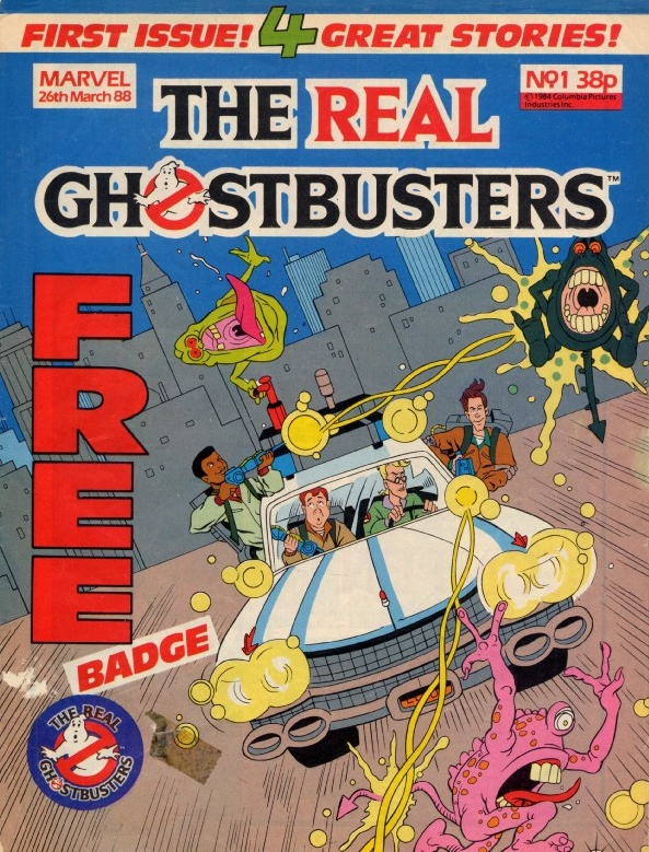 Marvel Comics Ltd- The Real Ghostbusters 001