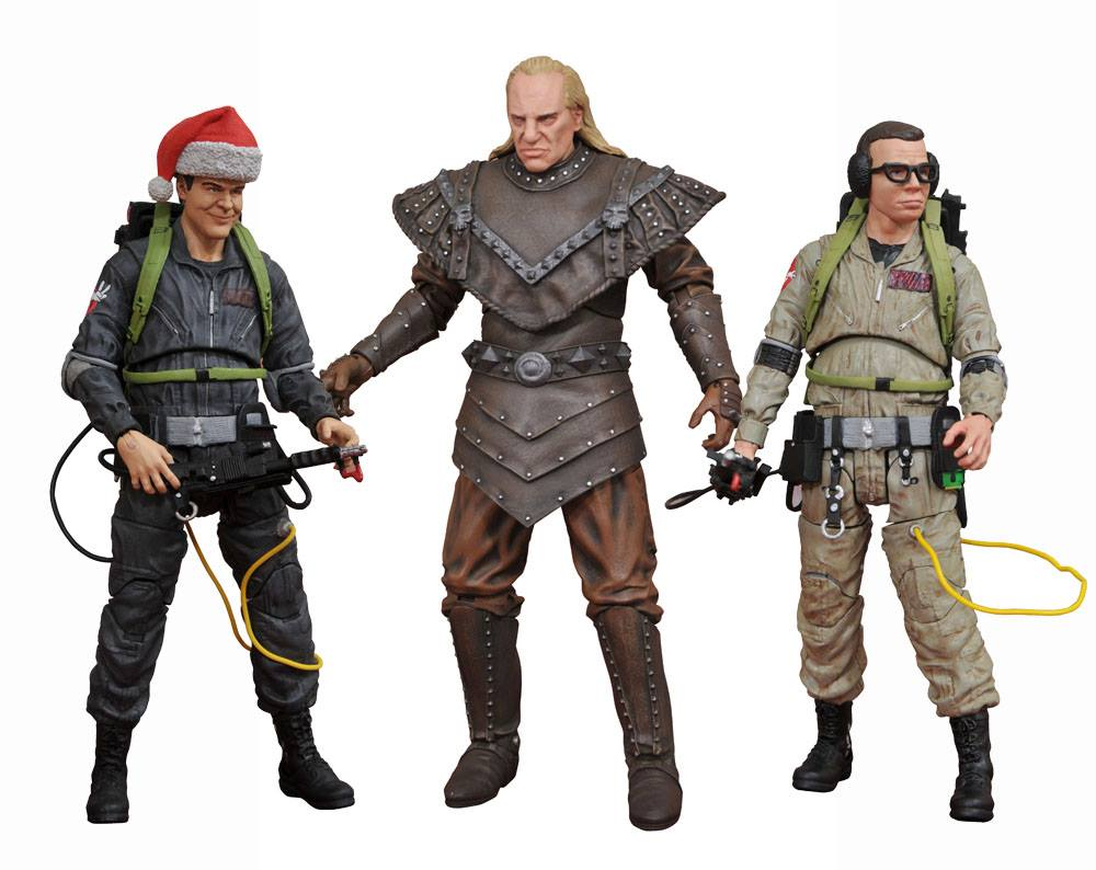 "Diamond Select Ghostbusters II: ""Geared Up"" Louis Tully Action Figure"