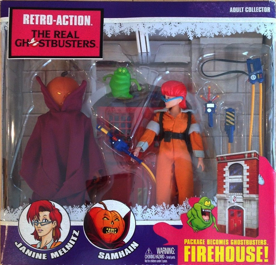 Matty Collector: Retro-Action The Real Ghostbusters 2-Pack with Janine Melnitz and Samhain